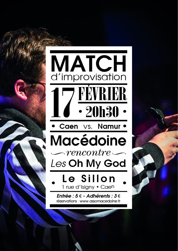 affiche match 23-sept-2017